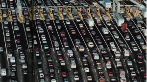 Kemacetan di London Inggris