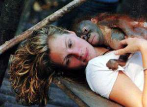 Julia Roberts & Orangutan