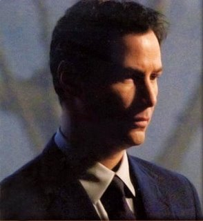 "Keanu Reeves sebagai Klaatu dalam ""The Day The Earth Stood Still"""