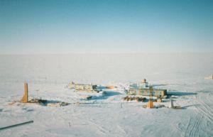 Stasiun Vostok di Antartika milik Rusia