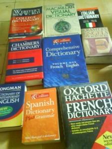 Sebagian koleksi kamusku