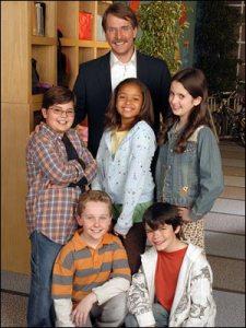 "Jeff Foxworthy dan Anak-Anak Kelas 5 Dalam ""Are You Smarter Than The 5th Grader?"" 2007"