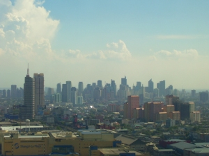 Manila Skyline (the Philippines)