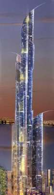 The Future Tallest Man-Made Structure In The World?: Mubarak Tower in Kuwait measureing 1001 Meters!